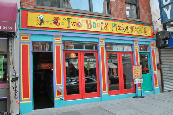 Two Boots Pizza NYC Food Ladyhattan Blog Manhattan Travel