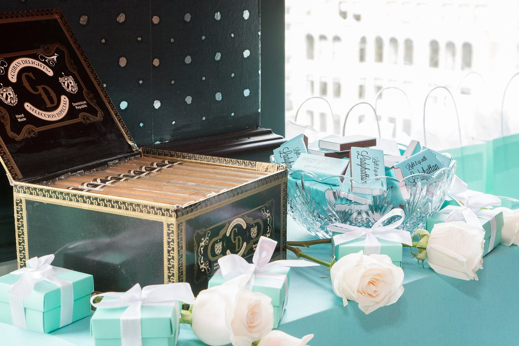 Ladyhattan Luxury Travel Celebrations Manhattan NY Rooftop Birthday Party Tiffanys Decor Tara Moss