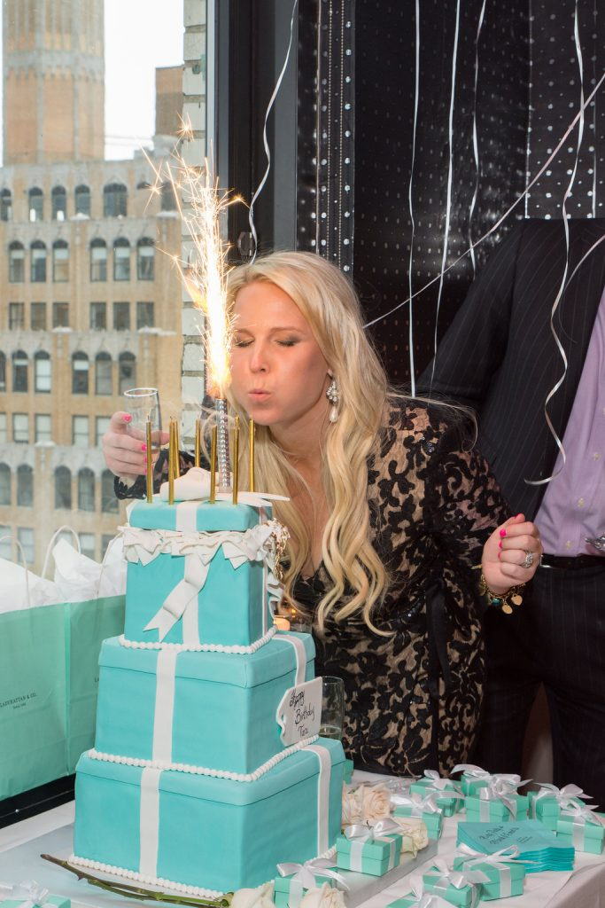 Ladyhattan Luxury Travel Celebrations Manhattan NY Rooftop Birthday Party Tiffanys